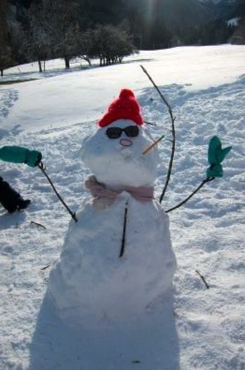 Photo - Bonhomme classe de neige