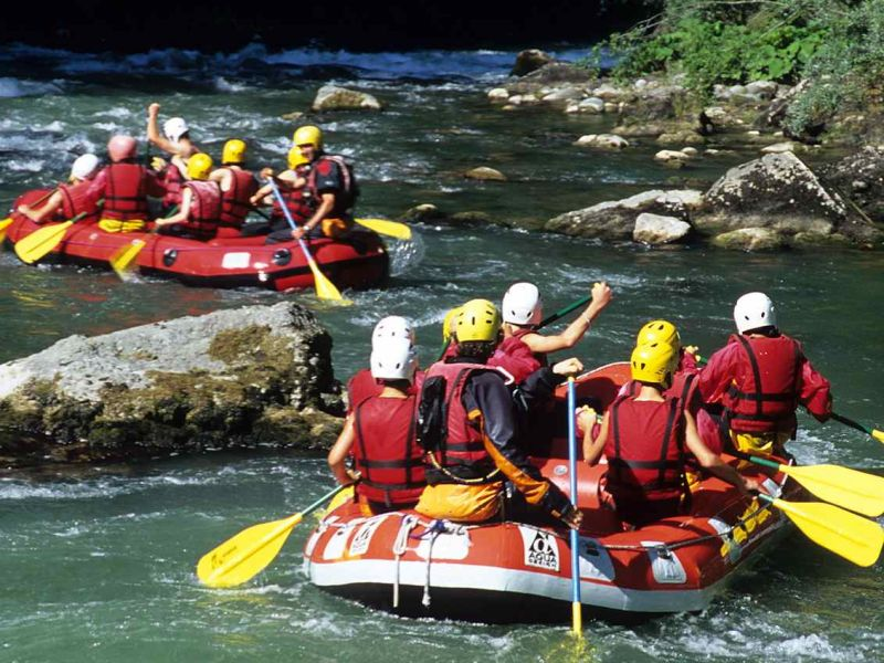 Photo - Descente en rafting